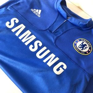 💙 Adidas Chelsea 09/10 Home Jersey (M)